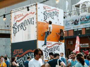 afzal strong festival adventure