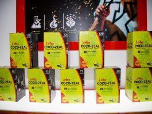 irfaz coco zeal products display