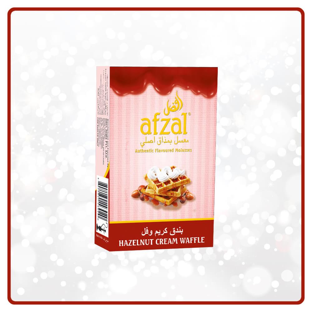 afzal Hazelnut Cream Waffle