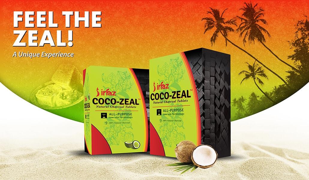 Irfaz Coco Zeal Website Banner