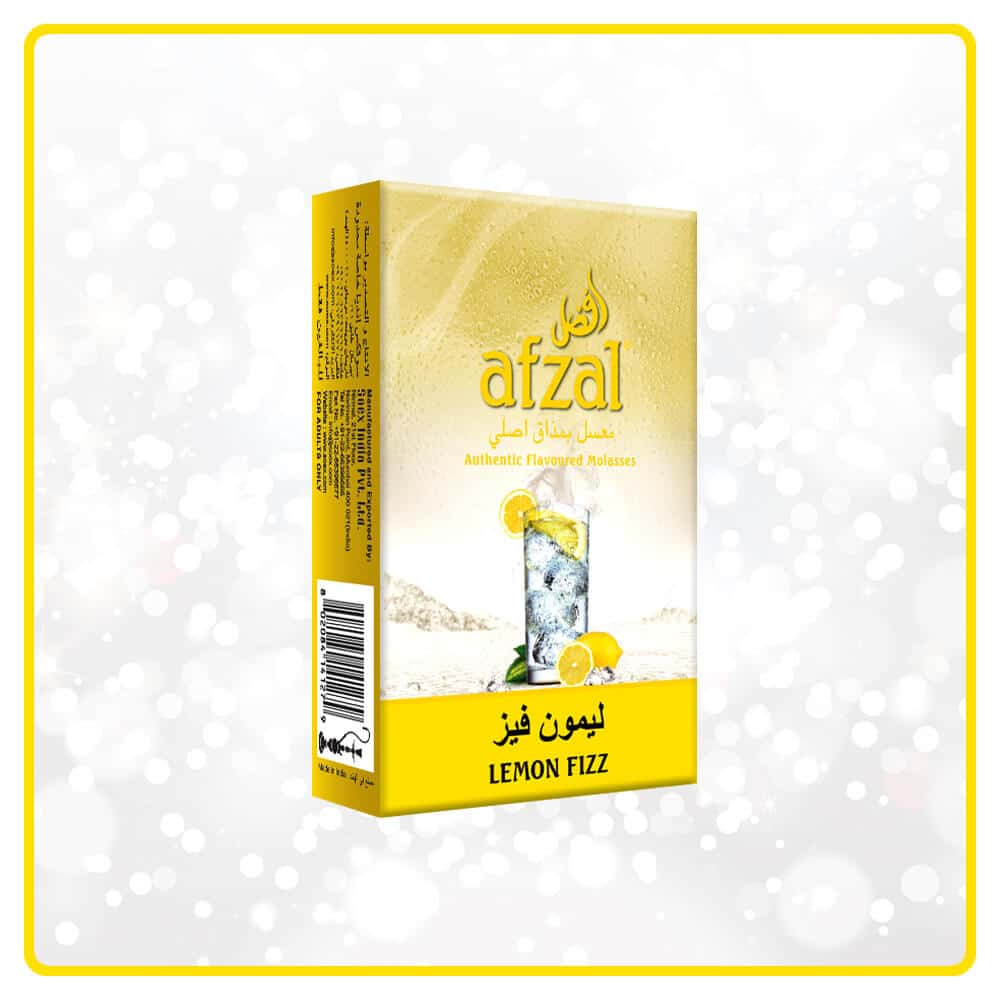 Lemon Fizz hookah molasses