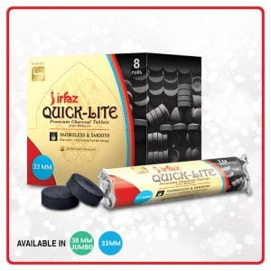 irfaz quick lite charcoal tablets